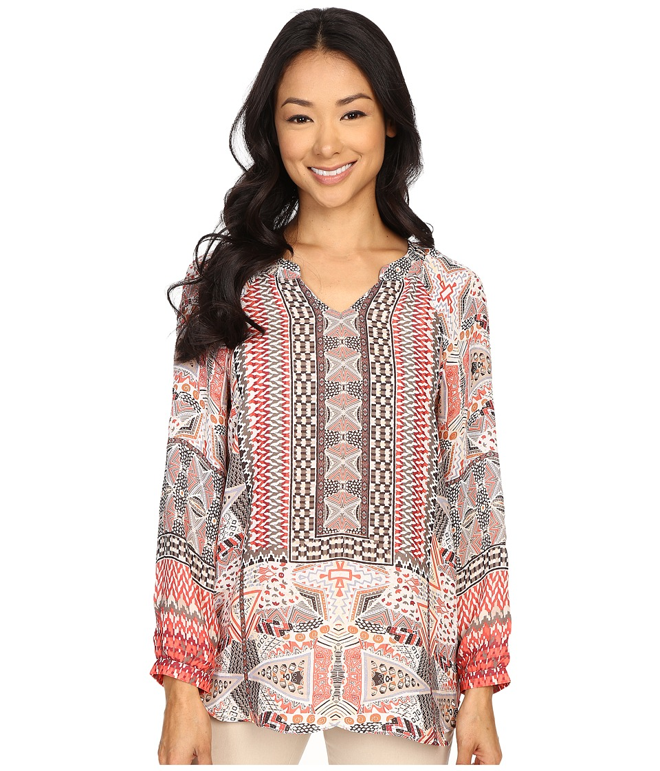 NIC+ZOE - Prismatic Top (Multi) Women's Clothing