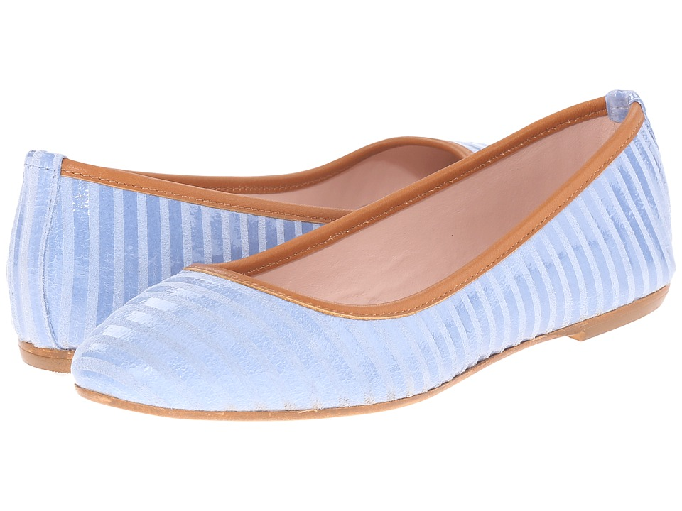 Summit White Mountain - Kaisley (Light Blue Suede) Women's Flat Shoes