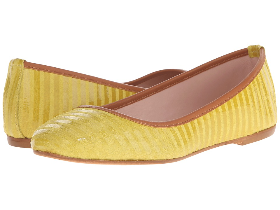 Summit White Mountain - Kaisley (Yellow Suede) Women's Flat Shoes