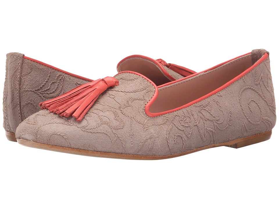 Summit White Mountain - Coleen (Tan Multi Suede) Women's Flat Shoes