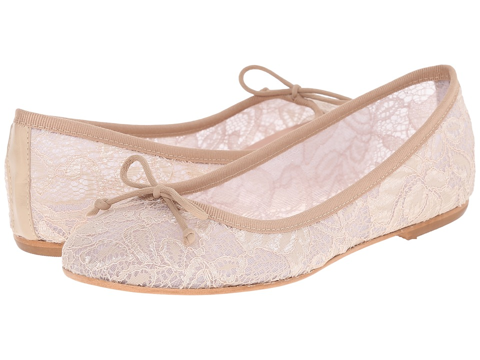 Summit by White Mountain - Kadison (Beige Lace Fabric) Women's Flat Shoes