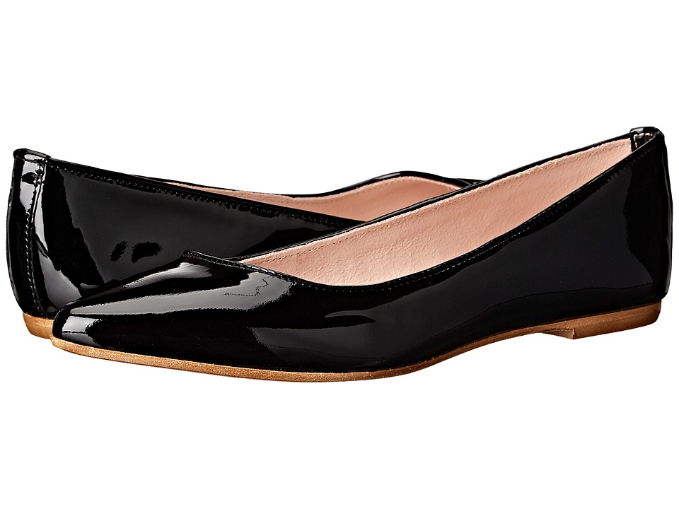 Summit by White Mountain - Kamora (Black Patent Leather) Women's Flat Shoes