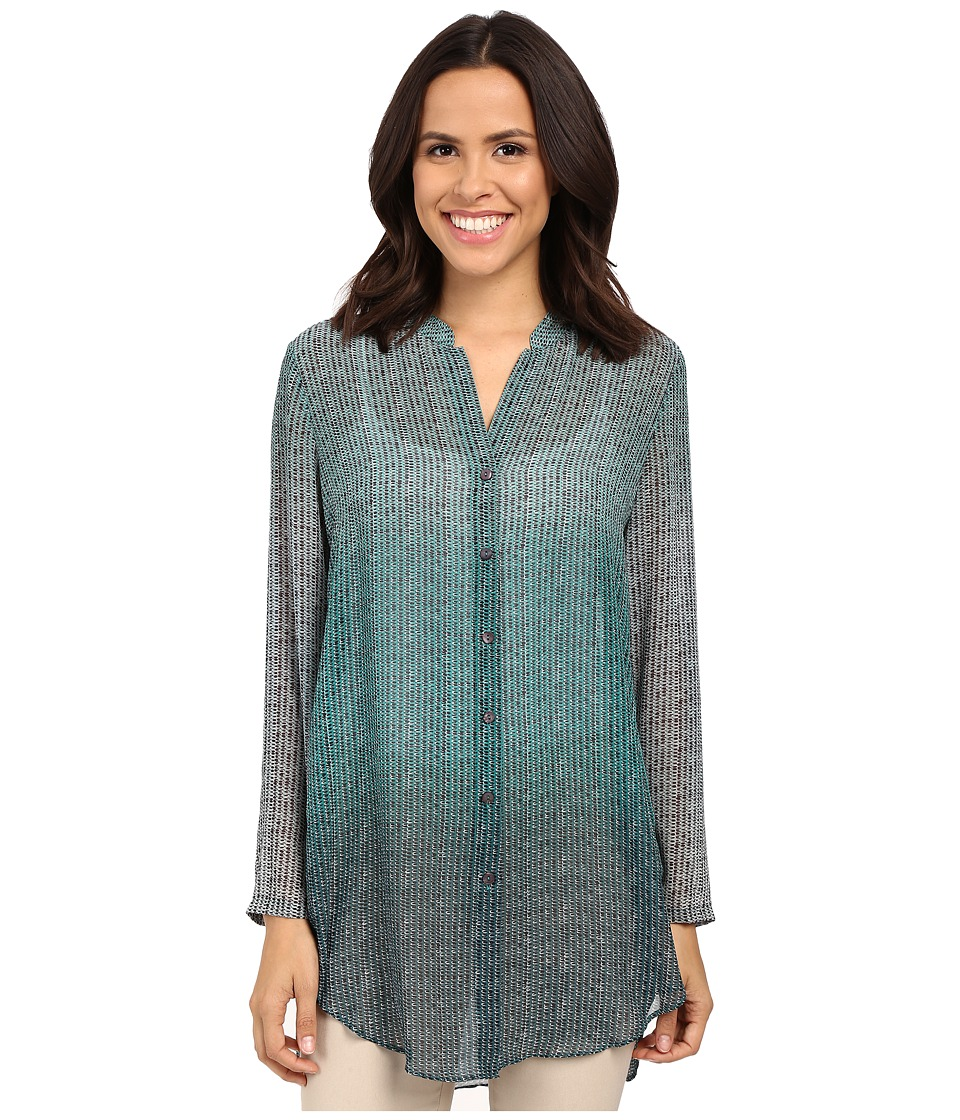 NIC+ZOE - Ombre Dots Tunic (Multi) Women's Blouse