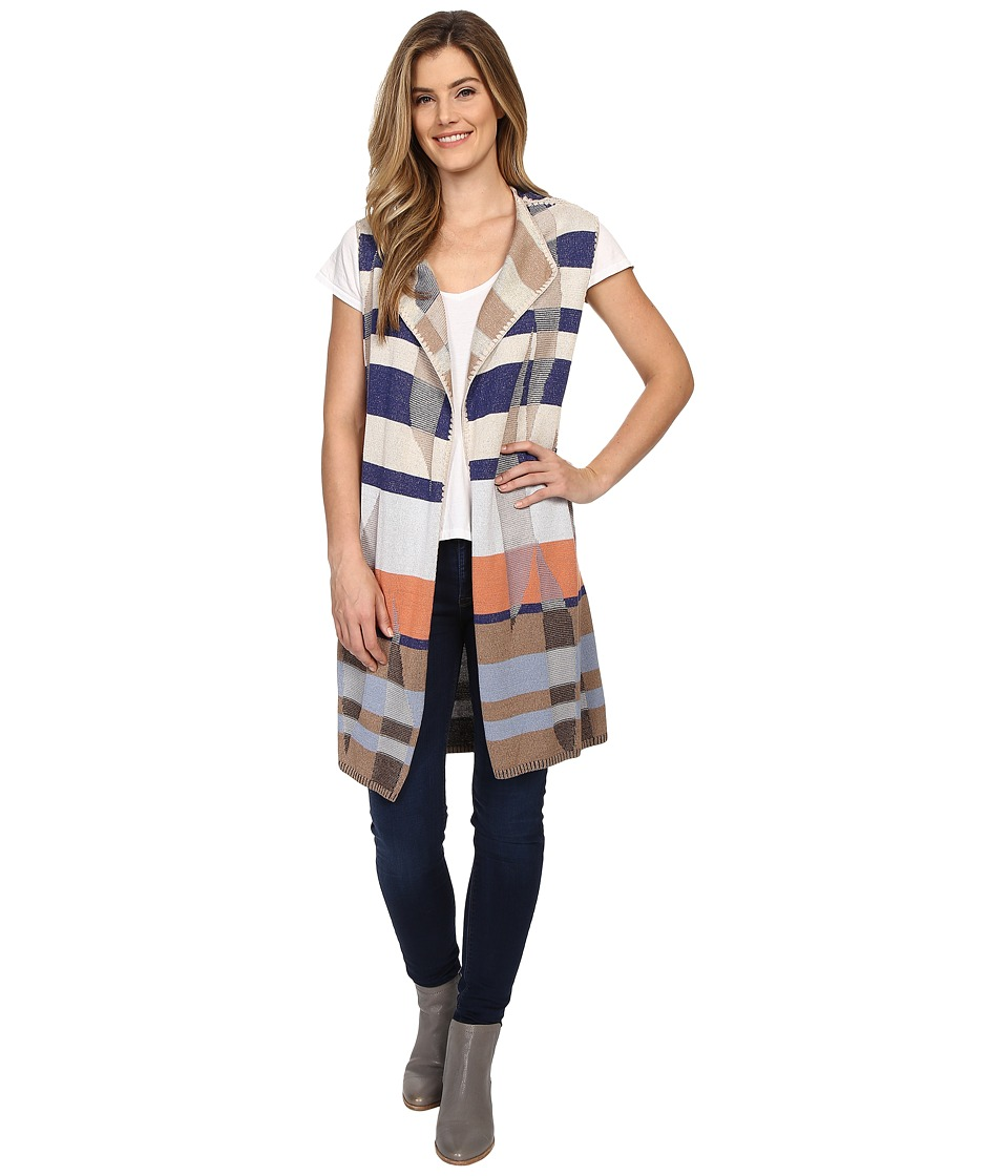 NIC+ZOE - Watercolor Vest (Multi) Women's Vest