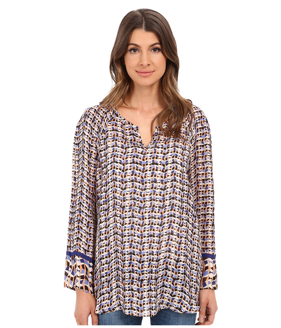 NIC+ZOE - Tuning In Top (Multi) Women's Clothing