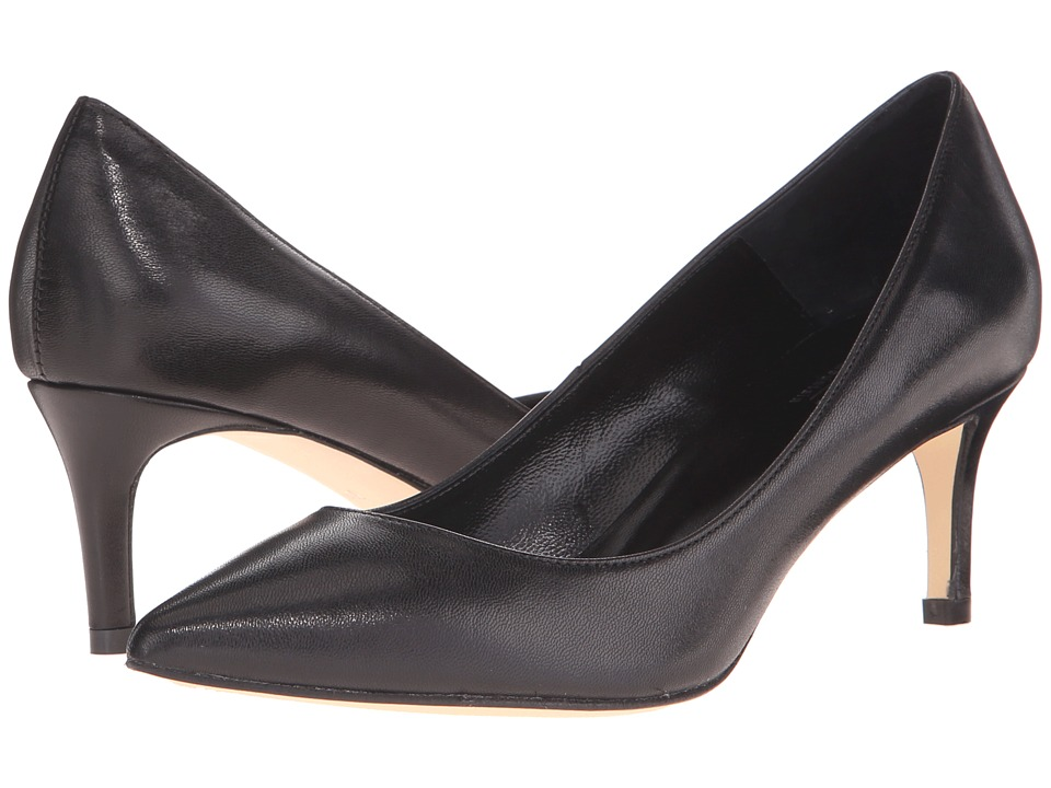 Summit by White Mountain - Callison (Black Leather) High Heels