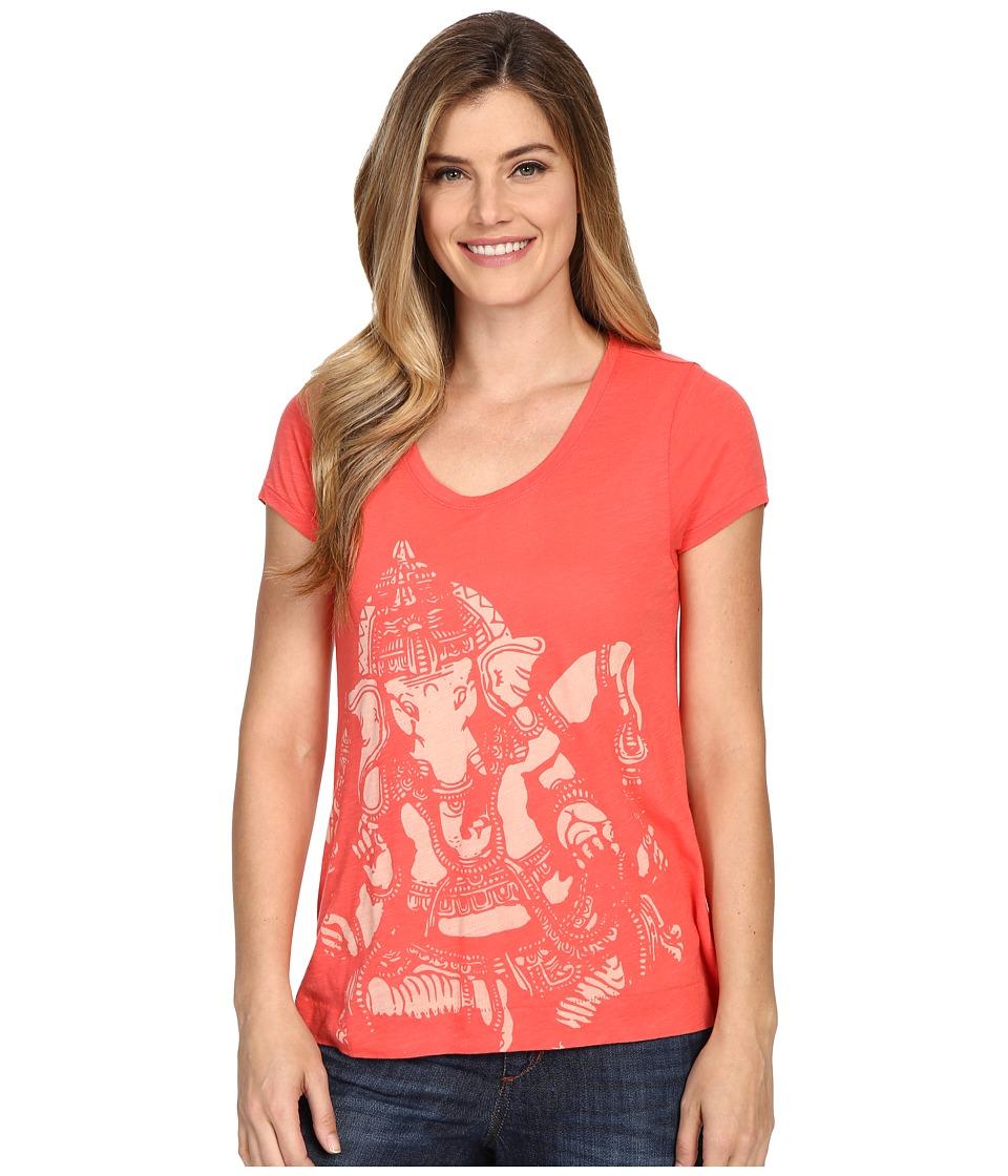 Lucky Brand - Ganesh Tee (Cayenne) Women's T Shirt