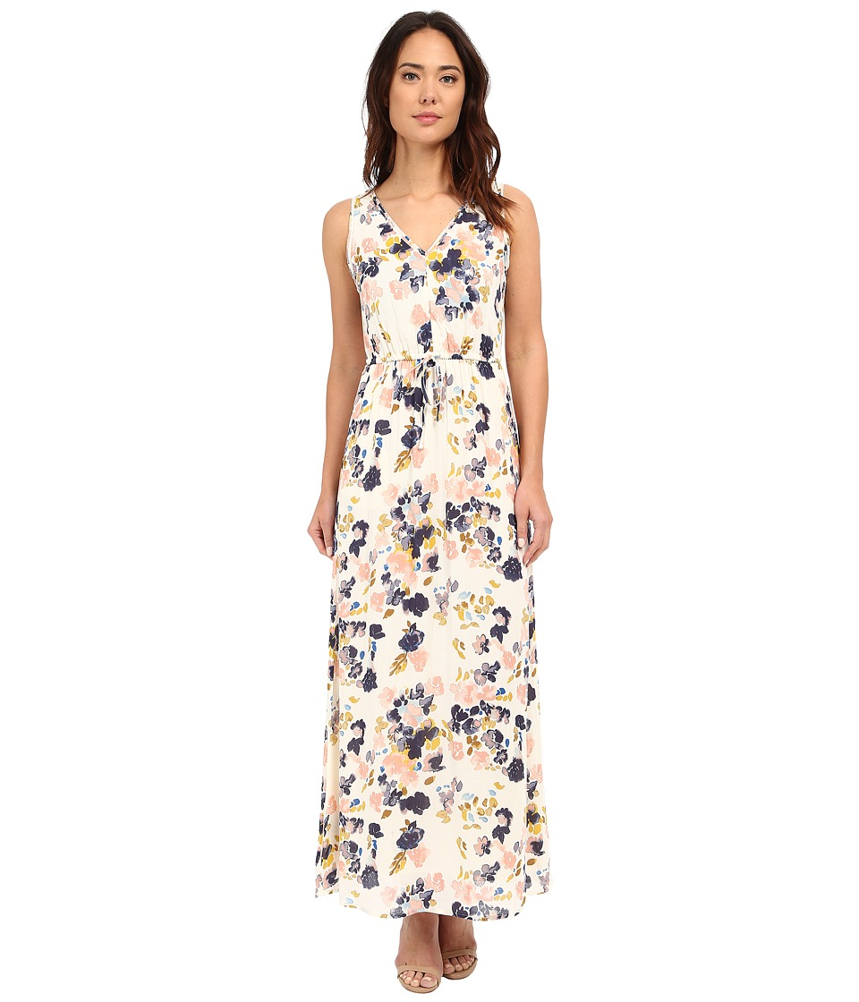 Lucky Brand - Floral Spritz Dress (Natural Multi) Women's Dress
