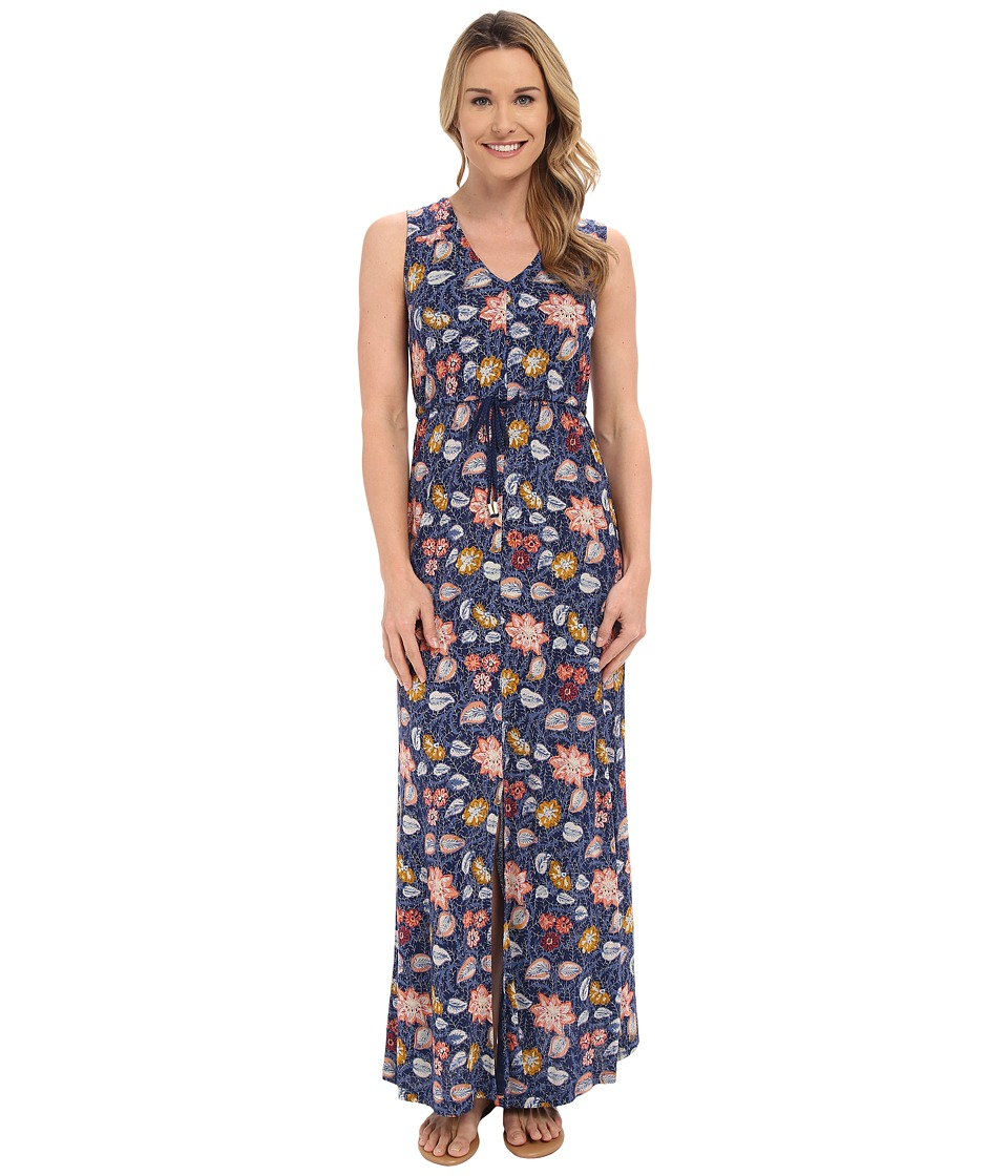 Lucky Brand - Batik Floral Dress (Multi) Women's Dress