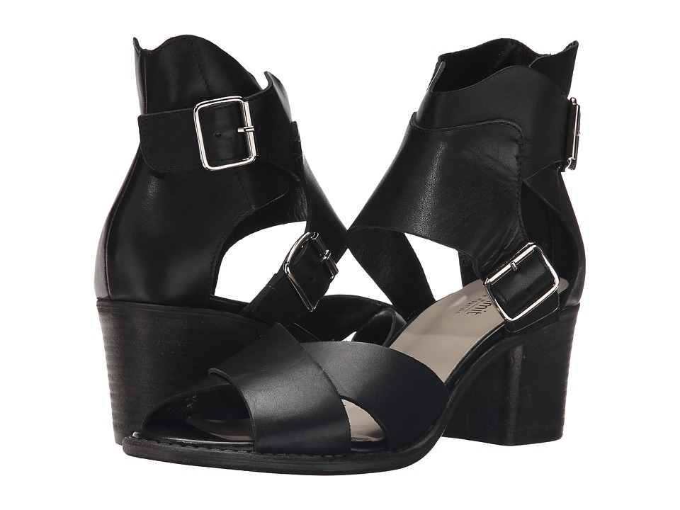 Summit by White Mountain - Beverlyn (Black Leather) High Heels