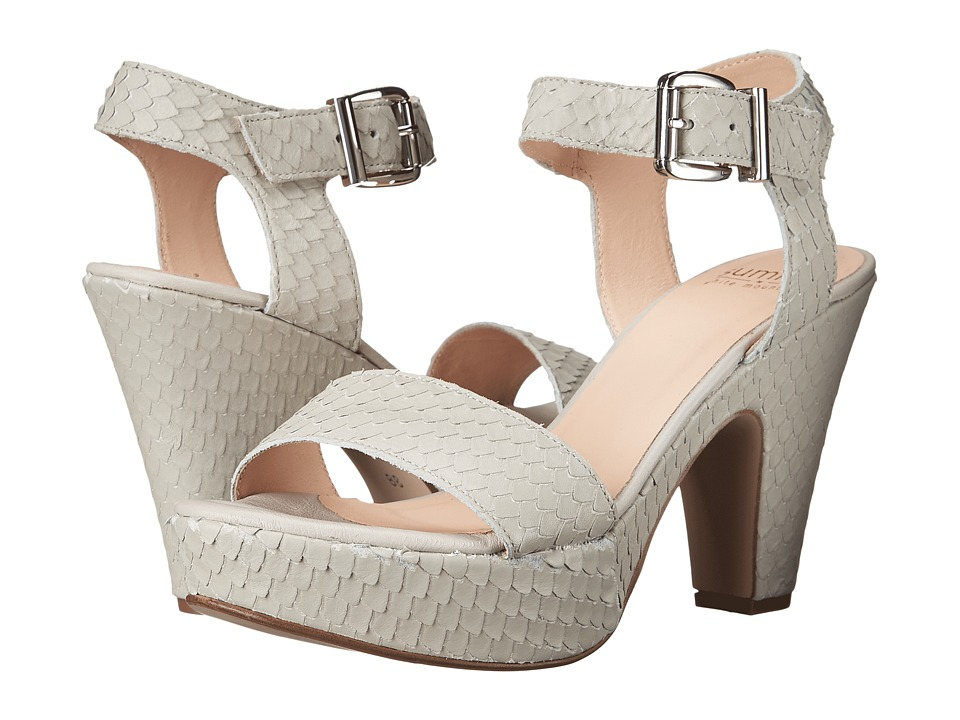 Summit by White Mountain - Abrianna (Light Grey Exotic Leather) High Heels