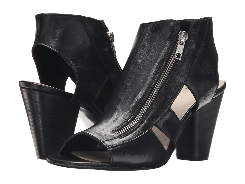 Summit by White Mountain - Sherilyn (Black Leather) High Heels
