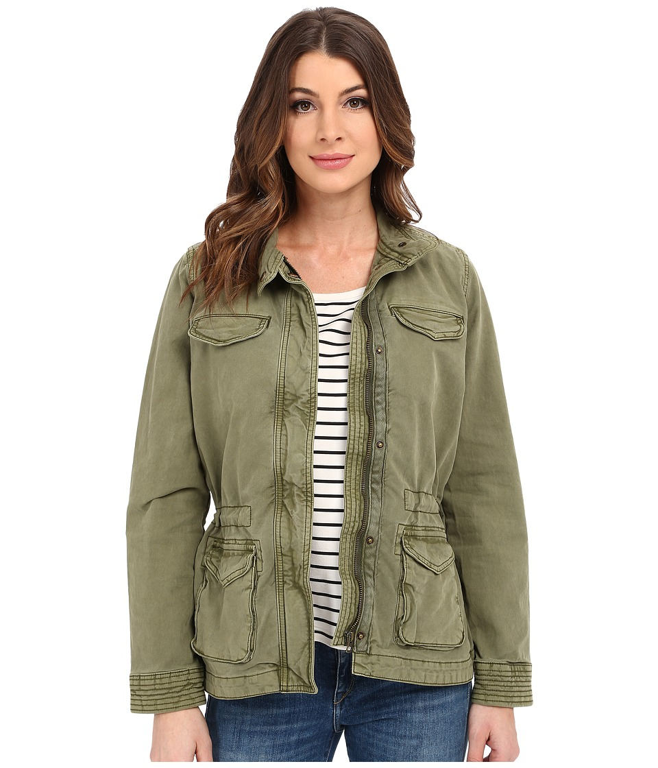 Lucky Brand - Core Military Jacket (Winter Moss) Women's Coat