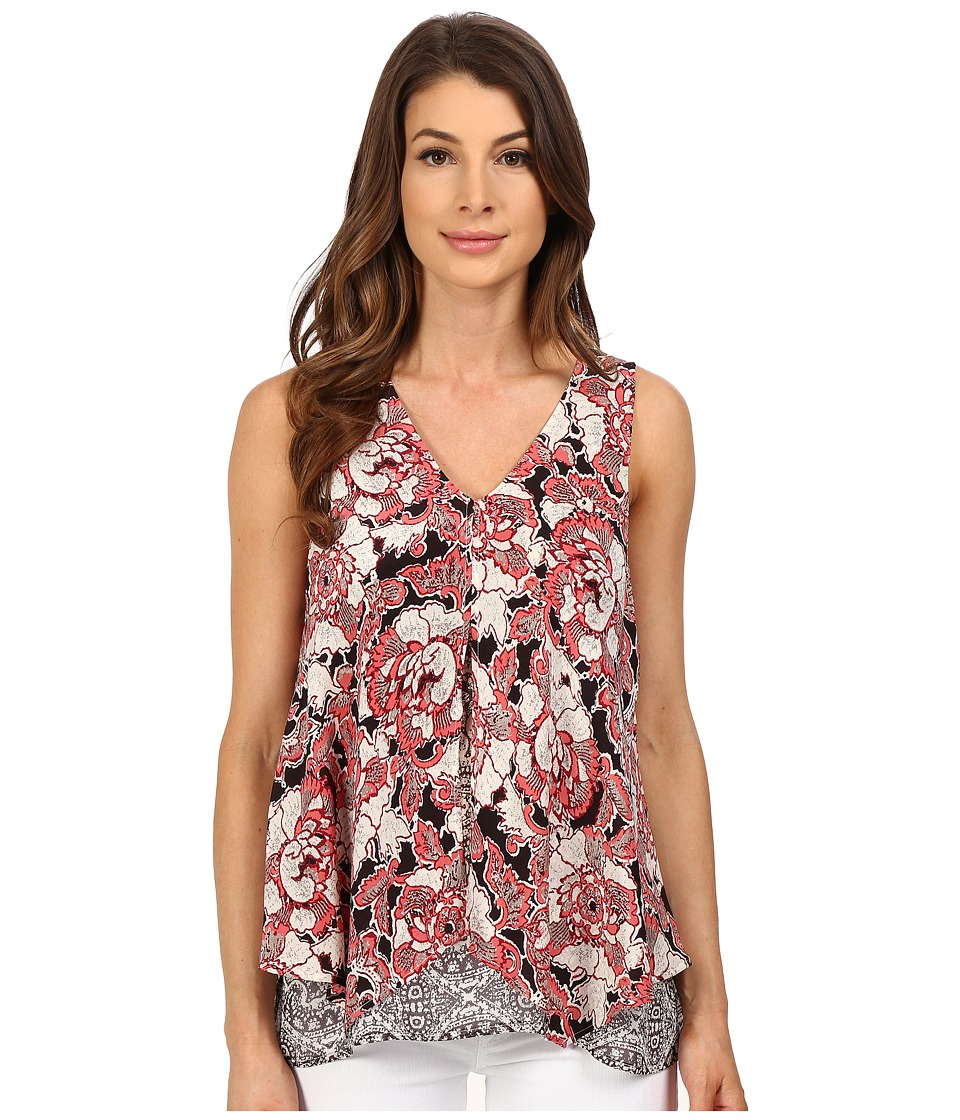 Lucky Brand - Floral Mixed Print Tank Top (Multi) Women's Sleeveless