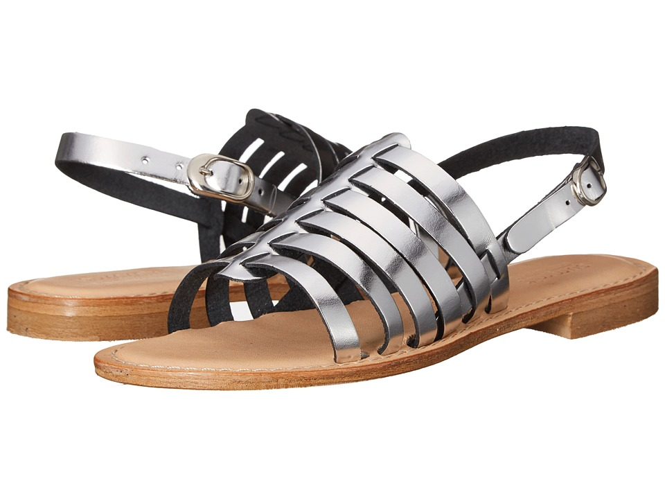 Summit by White Mountain - Elanna (Silver Metallic Leather) Women's Sandals