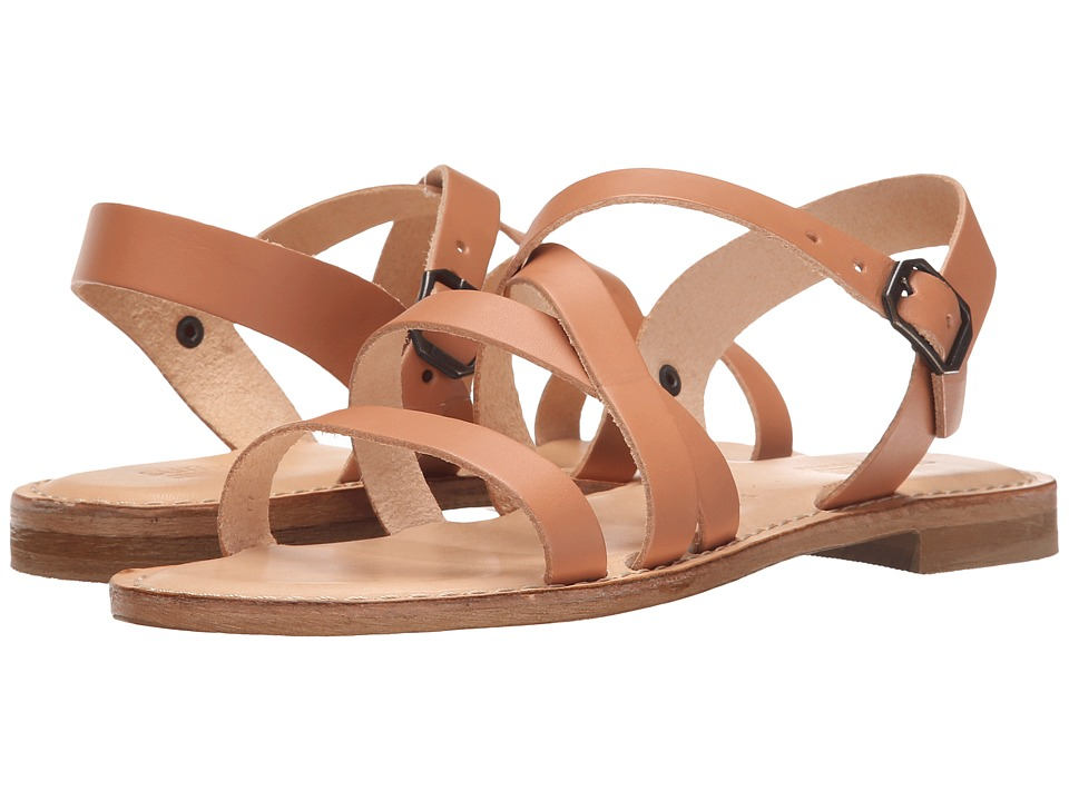 Summit by White Mountain - Elissia (Natural Leather) Women's Sandals