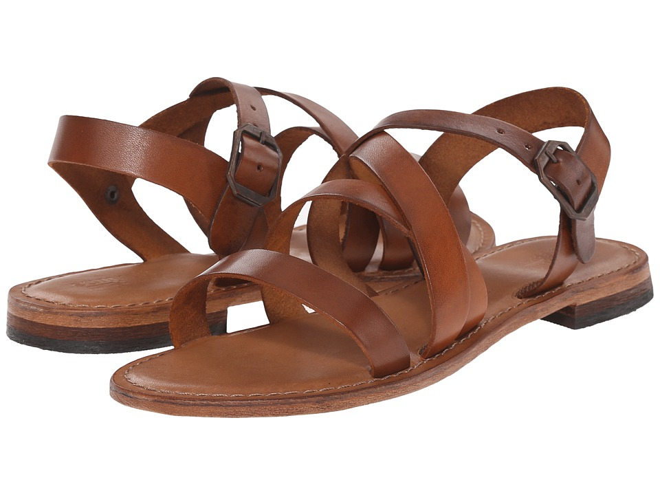 Summit White Mountain - Elissia (Cognac Leather) Women's Sandals