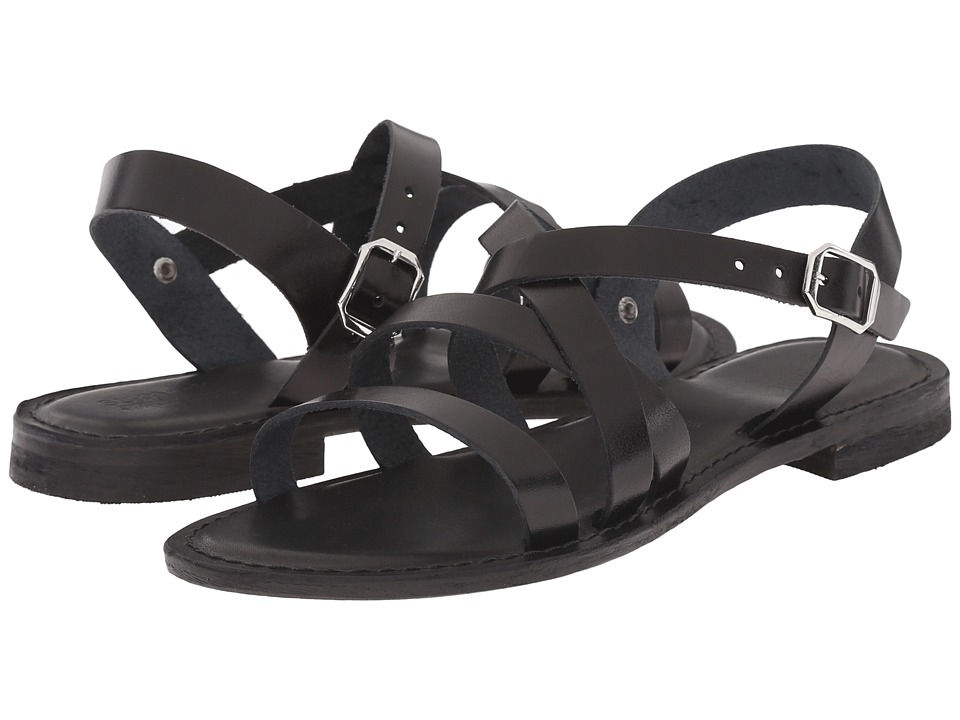 Summit by White Mountain - Elissia (Black Leather) Women's Sandals