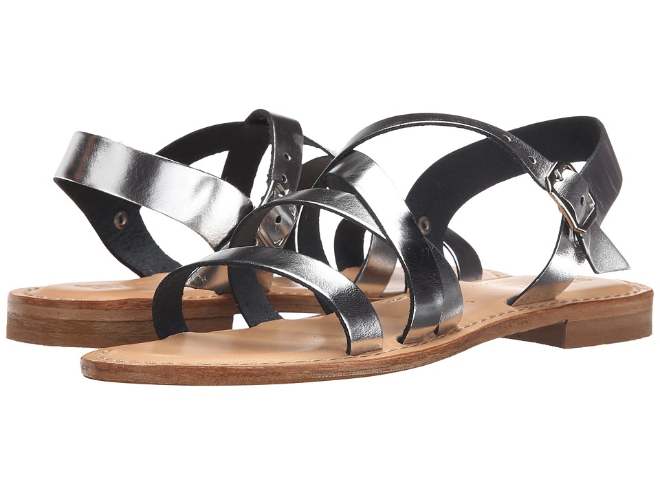 Summit by White Mountain - Elissia (Silver Leather) Women's Sandals