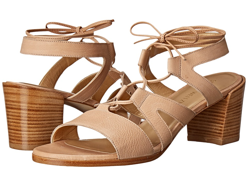 Stuart Weitzman - Tiegirl with Chorus Heel (Nude Comfy Calf) Women's Shoes