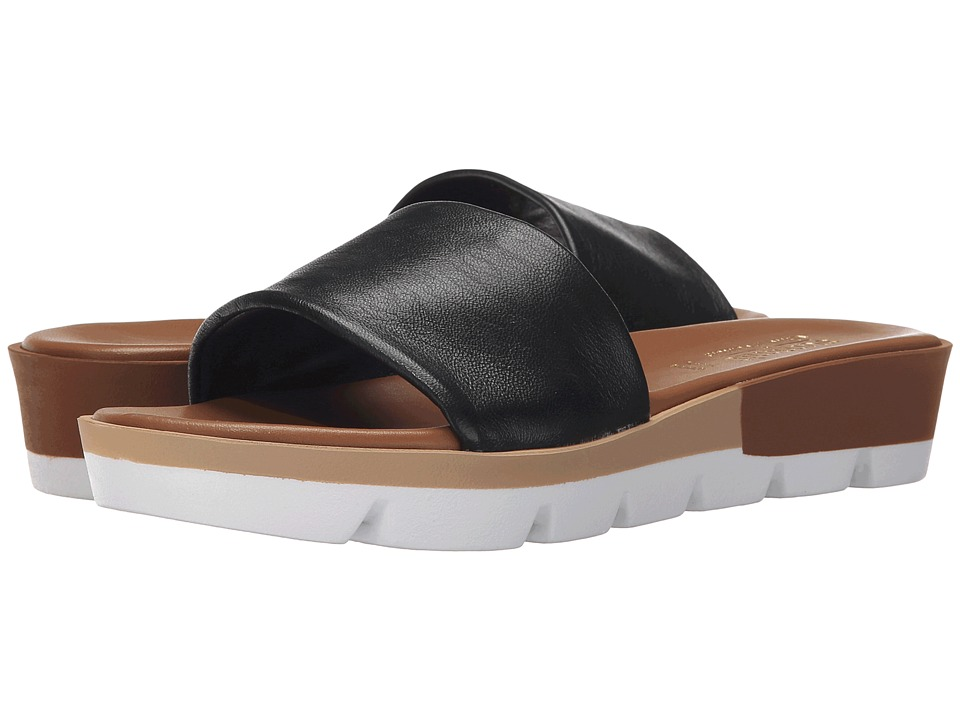 Summit by White Mountain - Faye (Black Leather) Women's Sandals