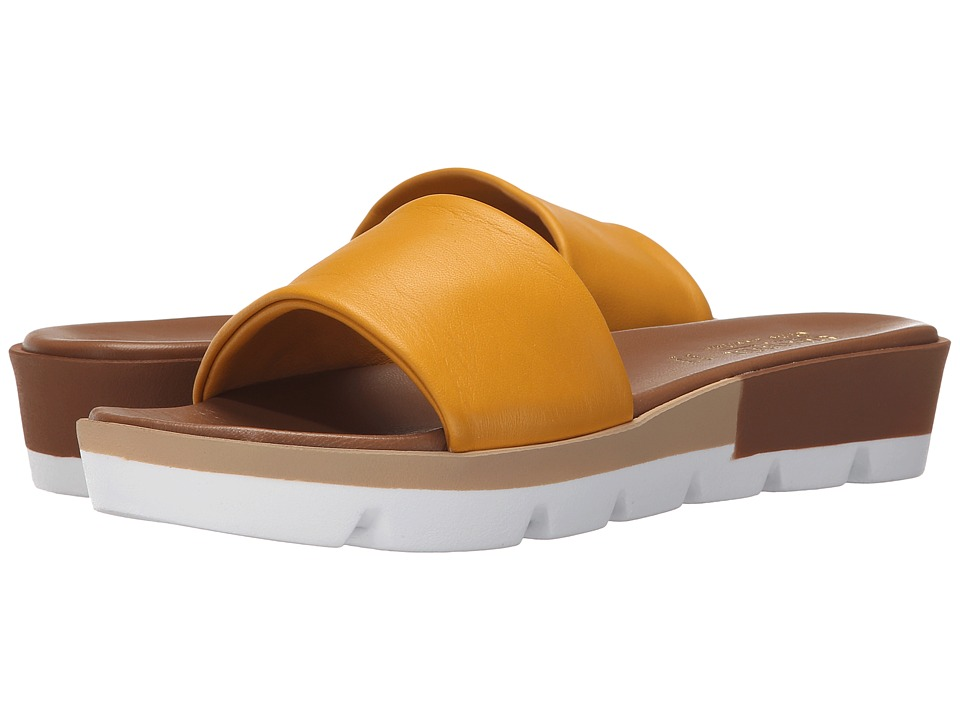 Summit by White Mountain - Faye (Yellow Leather) Women's Sandals