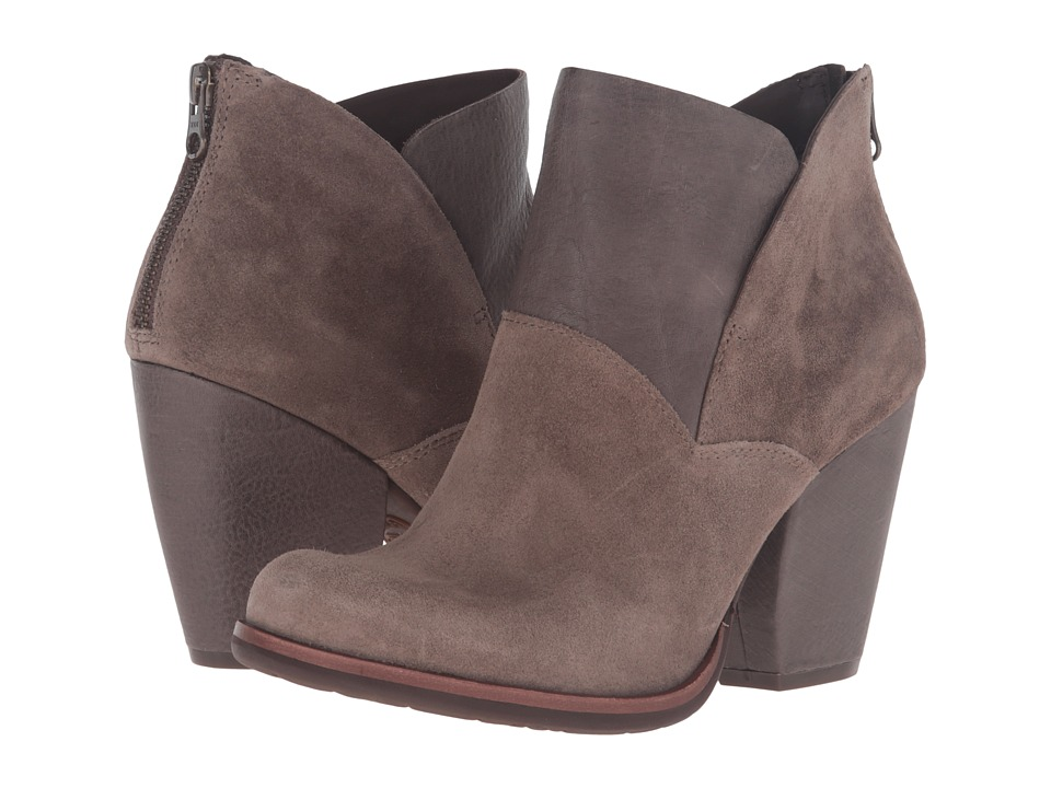 Kork-Ease Castaneda (Grey Combo Suede/Full Grain) Women