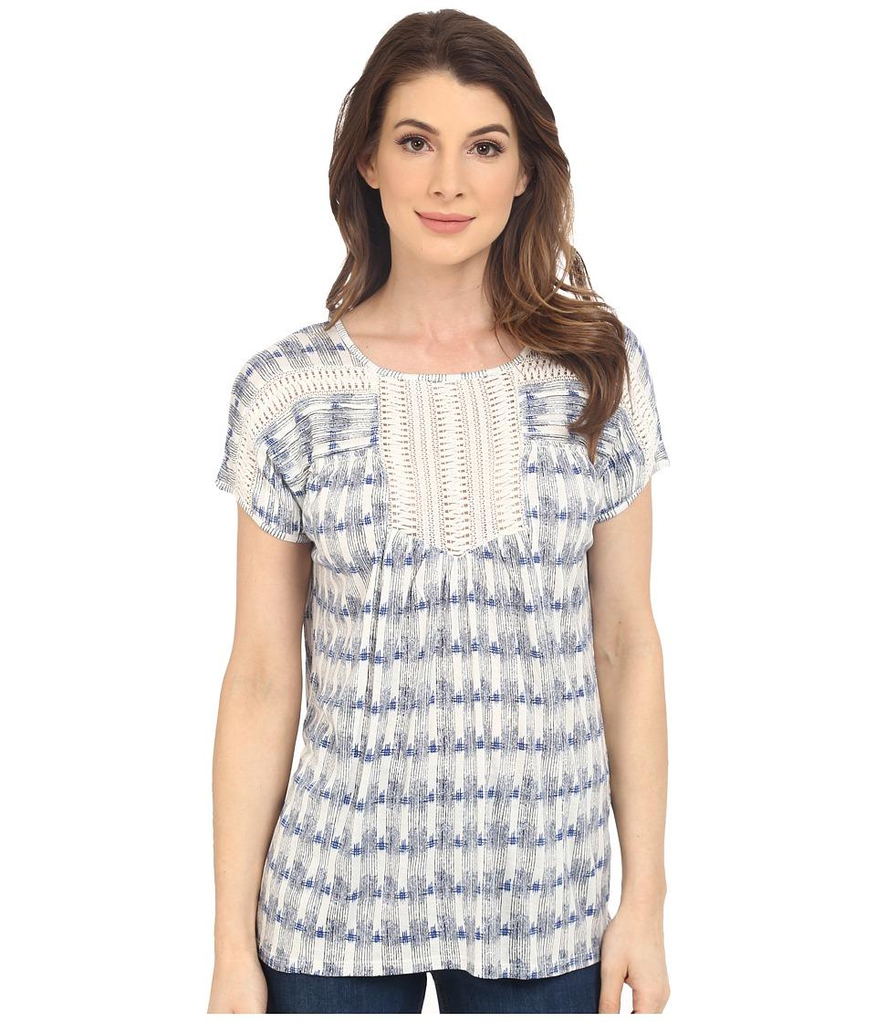 Lucky Brand - Crochet Bib Top (Multi) Women's Clothing
