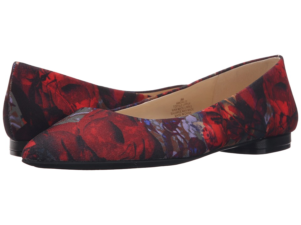 Nine West - Onlee10 (Red Multi Fabric) Women's Shoes
