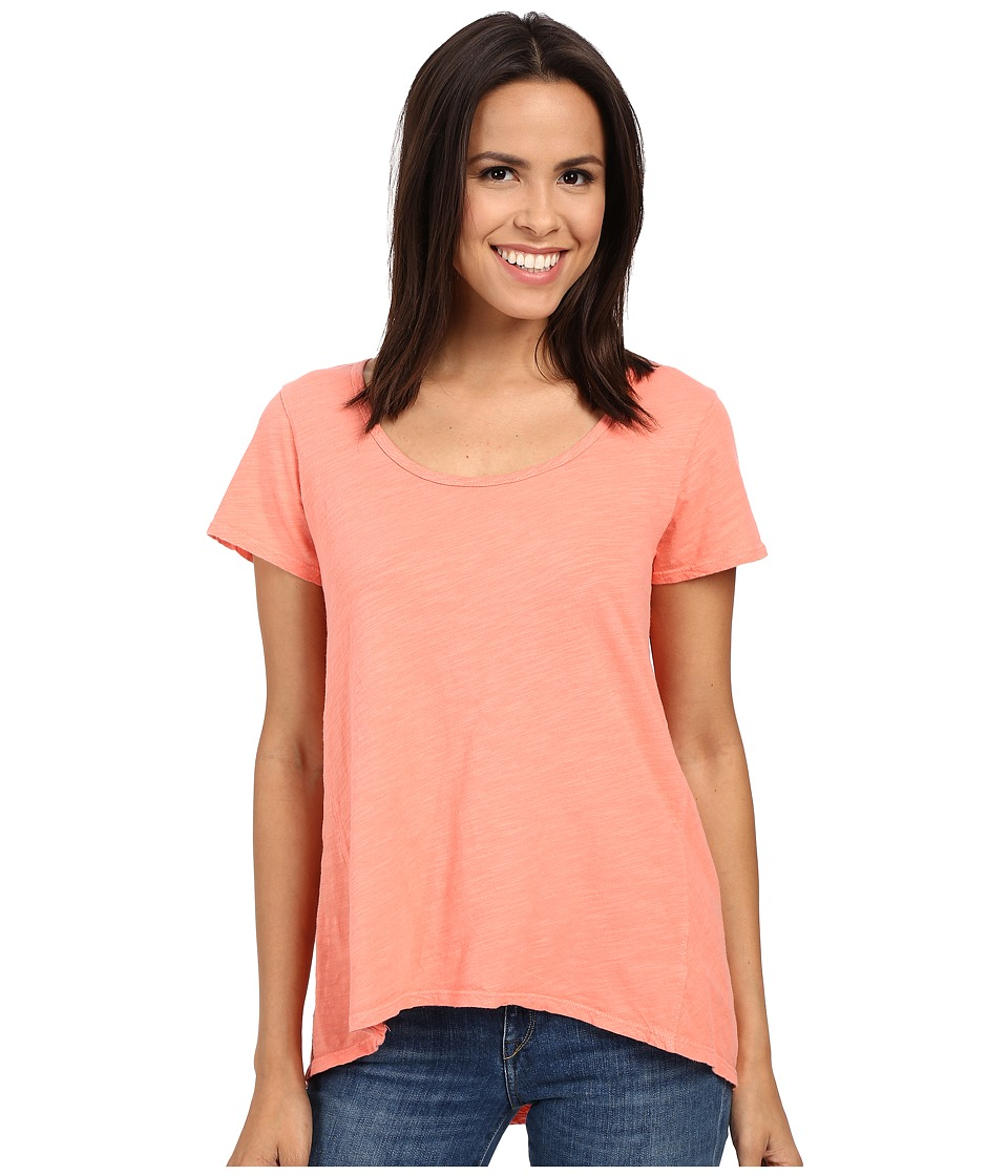 Fresh Produce - Luna Top (Melon Sherbet) Women's Short Sleeve Pullover