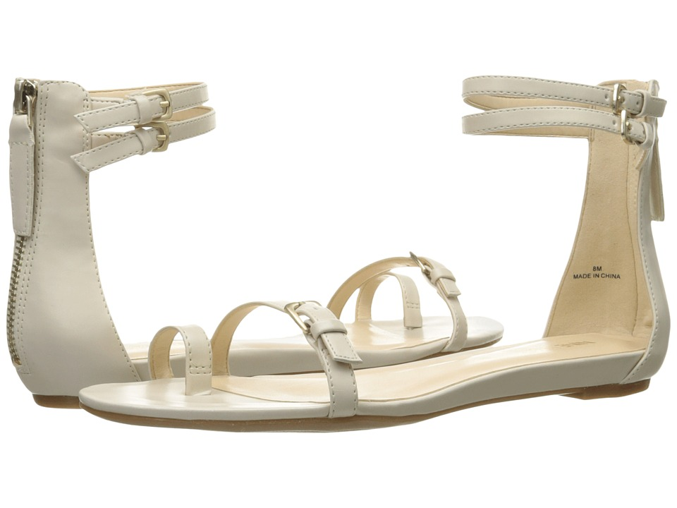 Nine West Onque3 Off-White Synthetic Sandals