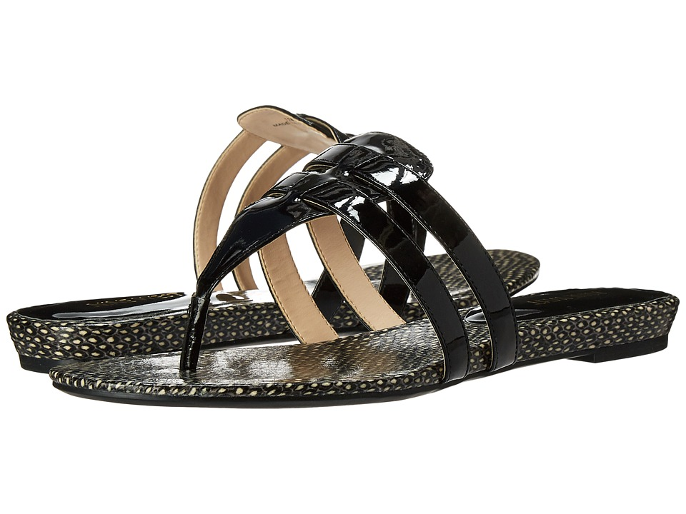 Nine West - Outside3 (Black Synthetic) Women's Sandals