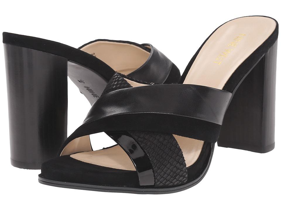 Nine West - Philomyna (Black Multi Leather) High Heels