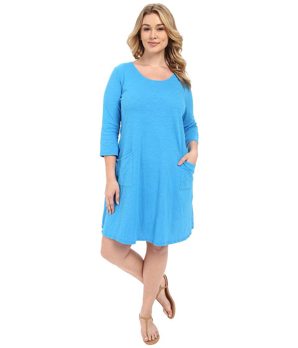 Fresh Produce - Plus Size Dalia Dress (Marina) Women's Dress