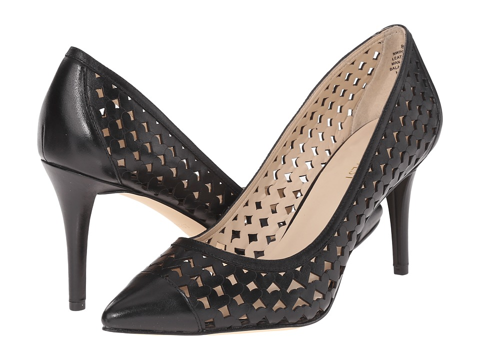 Nine West - Porcupine (Black Leather) Women's Shoes