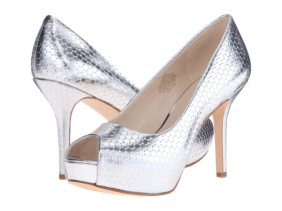 Nine West - Qtpie (Silver Metallic 2) Women's Shoes