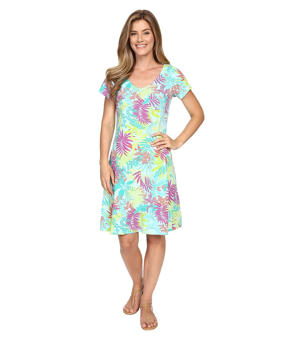 Fresh Produce - Vintage Palm Sydney Dress (Swimming Pool) Women's Dress