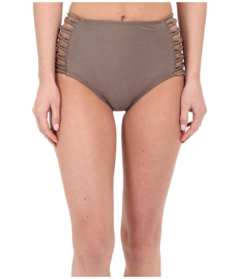 O'Neill - Lux Solids High Waist Pant Bottoms (Metallic Bronze) Women's Swimwear
