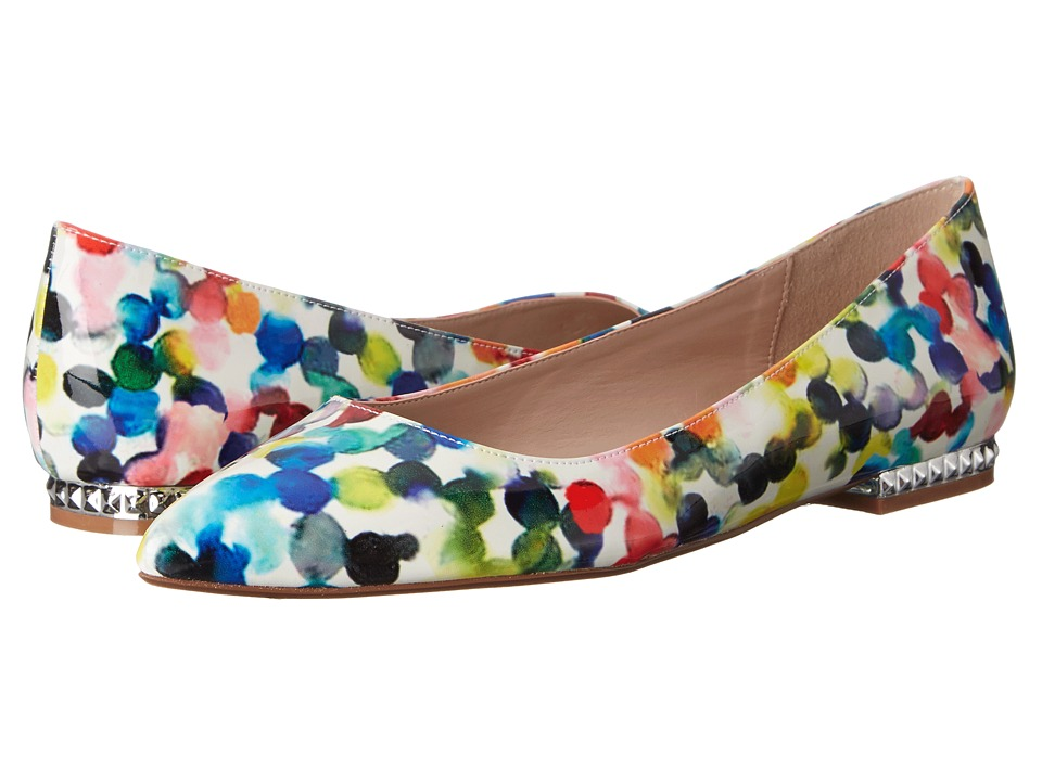 Dune London - Hydie (Multi Watercolor Patent) Women's Shoes