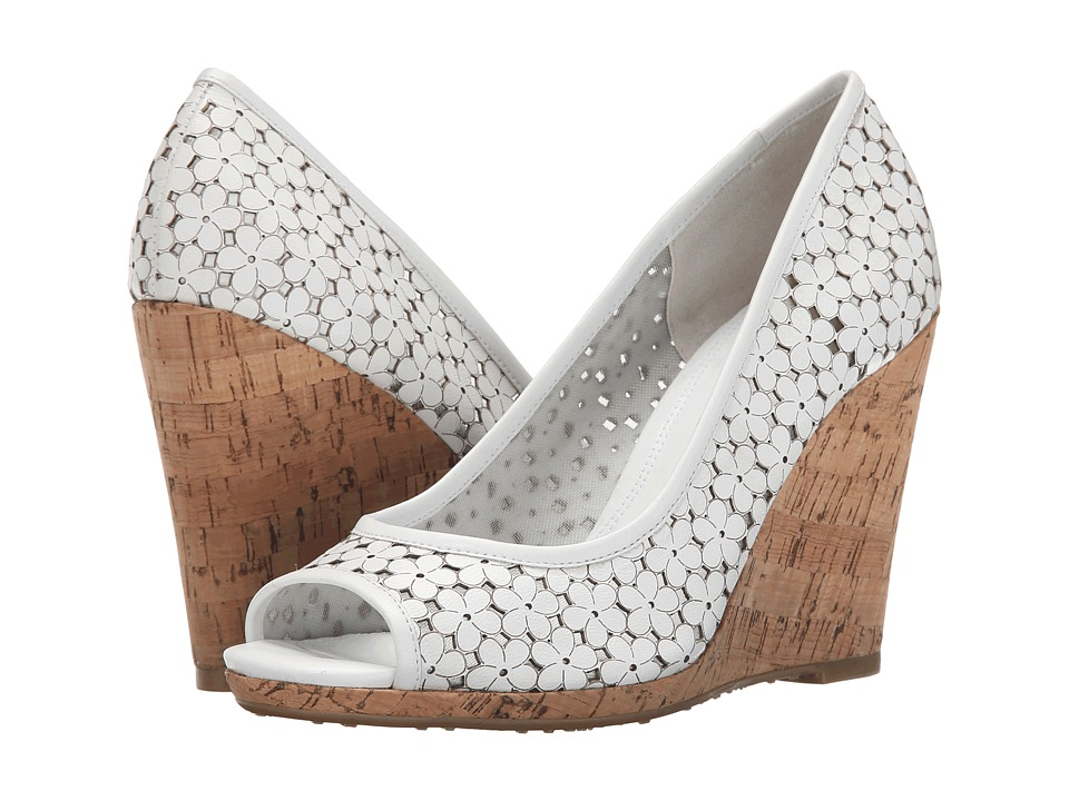 Dune London - Cassie (White Leather) Women's Shoes