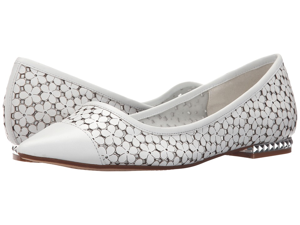 Dune London - Hunnee (White Leather) Women's Shoes