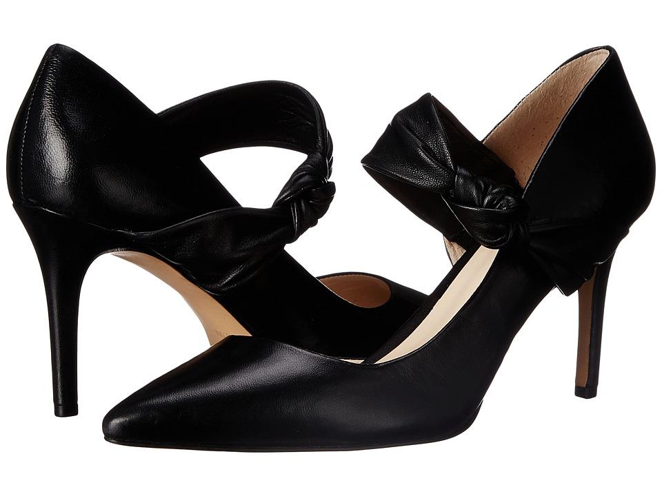 Nine West - Rlycool (Black Leather) High Heels