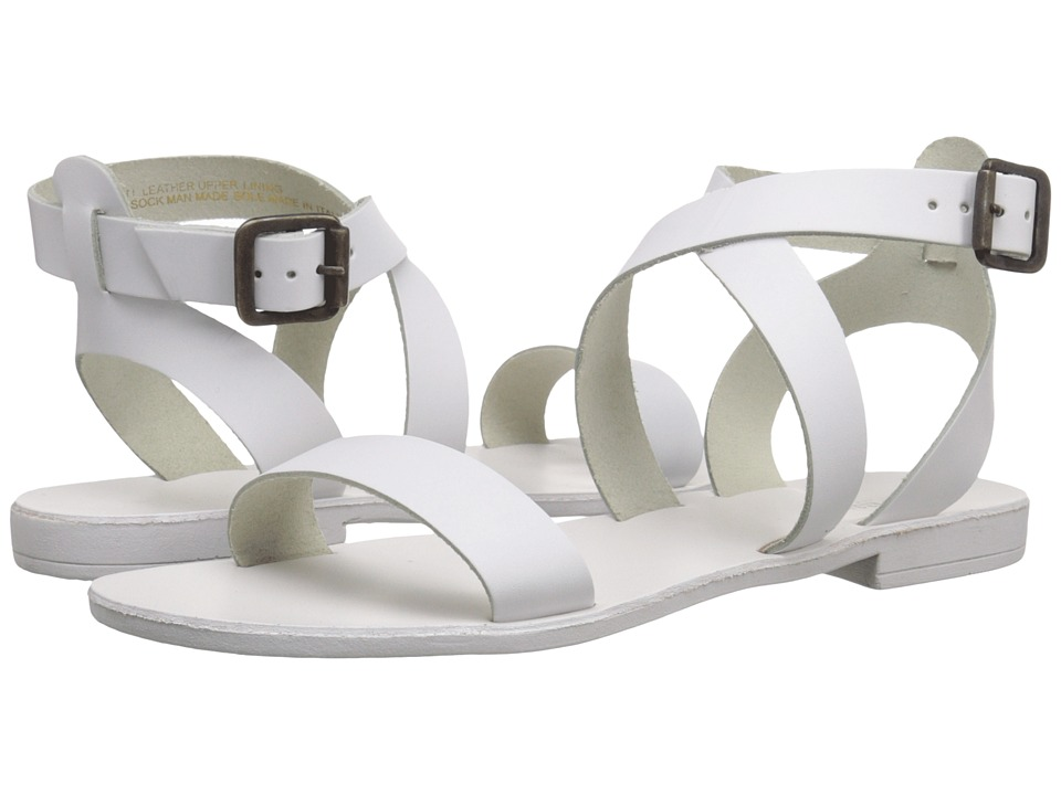 Dune London - Lotti (White Leather) Women's Sandals