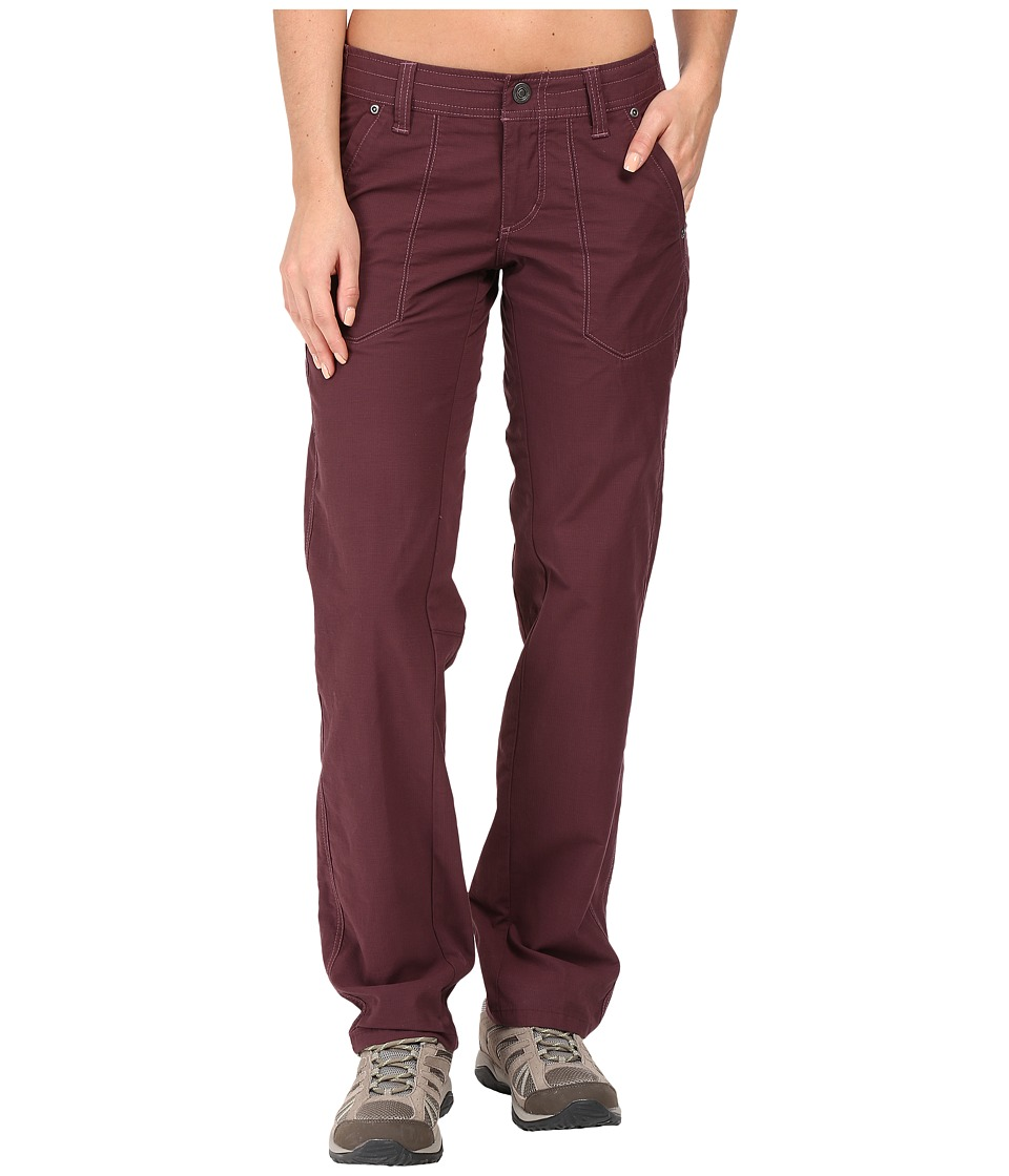 KUHL - Kendra Pant (Burgundy) Women's Casual Pants