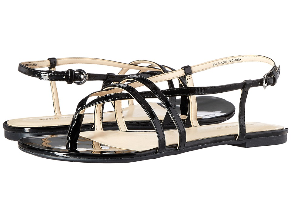 Nine West - Shmoopy3 (Black Synthetic) Women's Sandals