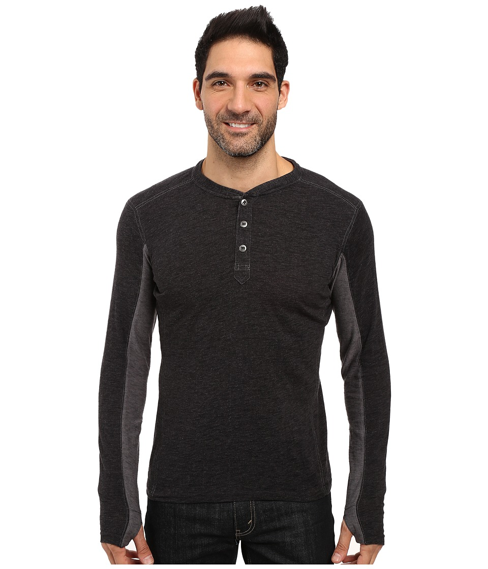 KUHL - Vanquisher Long Sleeve Shirt (Raven) Men's Long Sleeve Pullover