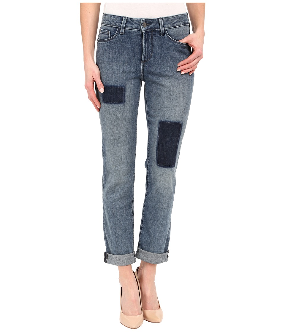 NYDJ - Sylvia Relaxed Boyfriend in Montebello Patched (Montebello Patched) Women's Jeans