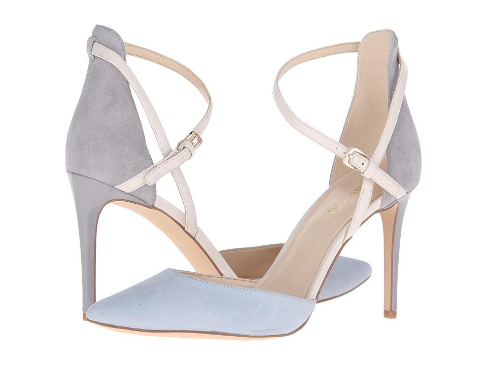 Nine West - Taragon (Light Blue Multi Suede) High Heels