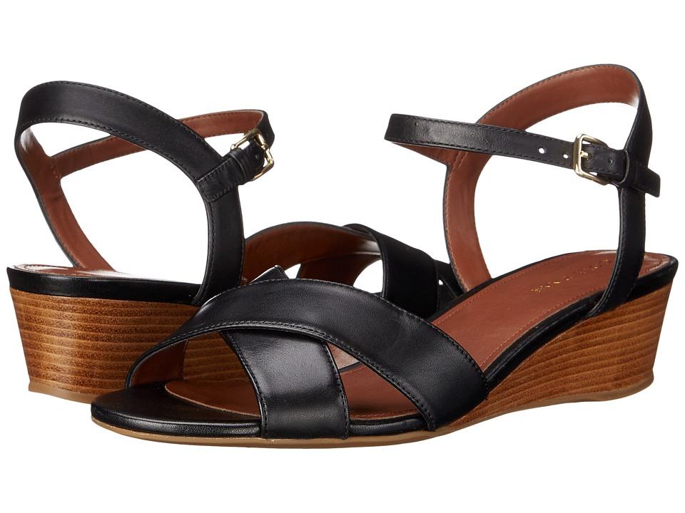 Cole Haan - Elsie Cross Wedge 40 II (Black) Women's Wedge Shoes