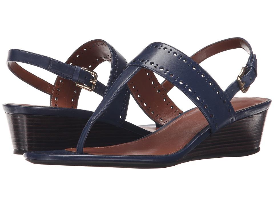 Cole Haan - Elsie Thong Sandal 40 II (Marine) Women's Sandals